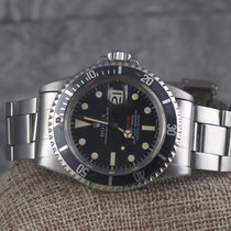 Rolex 1680 Red Submariner date, box & PUNCHED papers 1972