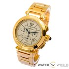 Cartier Pasha 42mm 18kt Yellow Gold Chronograph