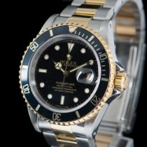 Rolex Submariner Date 16613LN Two-tone FULL SET  SERVICED LIKE...