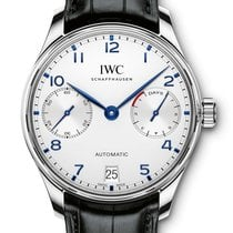 IWC Portugieser 7 Days Reserve - Steel - VAT INC. 22% - NEW