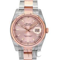 Rolex Datejust Gold/Steel Pink/18k rose gold 36mm - 116231