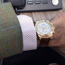 Rolex Daytona Oyster Perpetual Chronometer Cosmograph 18k...