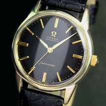 Omega Seamaster 591 Automatic Gold Cap Mens Watch RARE