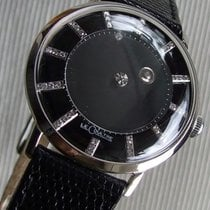 Jaeger-LeCoultre Galaxy 14K White Gold Mystery Black Diamond Dial
