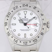 Rolex Explorer II weiß white dial SEL Oysterband F-Serie 16570T