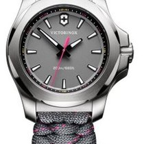 Victorinox Swiss Army I.N.O.X. V Dial Grey Pink And Grey Strap...