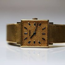Patek Philippe Vintage square full gold special dial extremely...