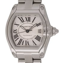 Cartier : Roadster :  W62025V3 :  Stainless Steel head