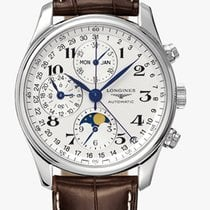 Longines Master Collection Moonphase 40mm Leather L26734783...