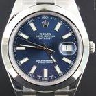 Rolex Datejust II 41MM, Steel Blue Dial (B&P)