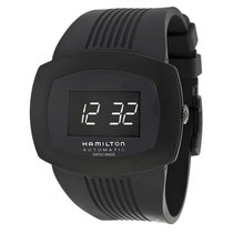 Hamilton Men's H52585339 Pulsomatic Digital Black Ion...