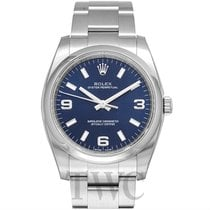 Rolex Perpetual 34 Blue/Steel 34mm - 114200