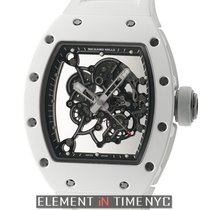 Richard Mille 42mm Bubba Watson White LTD ED