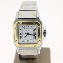 Cartier Santos Steel/Gold 24mm Automatic (BOX2001) MINT