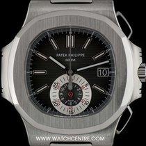 Patek Philippe S/S Nautilus Chronograph Gents B&P 5980/1A-001