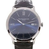 Baume & Mercier Classima 40 Date Blue Dial