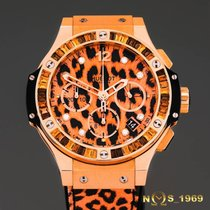 Hublot Big Bang 41 mm Leopard 18K Rose Gold & Diamonds...
