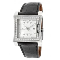 Bedat & Co 114.050.109 Bedat No. 1 in Steel with DIamonds...