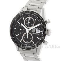 TAG Heuer Carrera Caliber 16 Automatic Chronograph Steel 41MM...