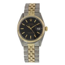 Rolex Oyster Perpetual Datejust 1601 Two Tone YG / SS