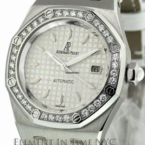 Audemars Piguet Royal Oak Steel Factory Diamond Bezel 33mm