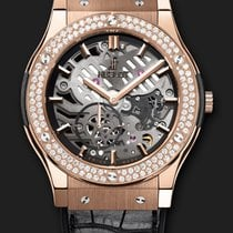 Hublot Classic Fusion Classico Ultra-Thin King Gold Diamonds...