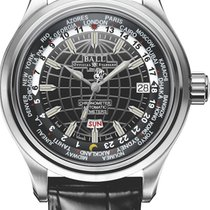 Ball Trainmaster Worldtimer Automatik Herrenuhr GM2020D-LCJ-BK