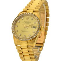 Rolex Used 68288_Champ_DD_Used Yellow Gold Mid Size Datejust...