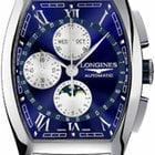 Longines Evidenza Automatic Chronograph Moonphase XL Mens Watch