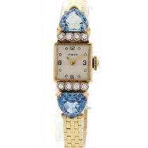 Tiffany Vintage Tiffany & Co YG Aquamarine & Diamond...
