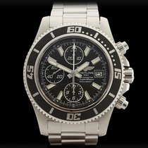 Breitling Superocean II Chronograph Stainless Steel Gents...
