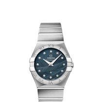 Omega Constellation 27 Quartz Blue Dial