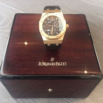 Οντμάρ Πιγκέ (Audemars Piguet) Dual Time Rose Gold