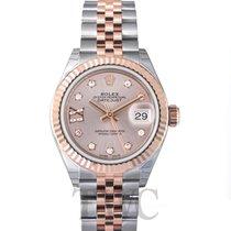 Rolex Lady Datejust 28 Sundust 18k Everose gold/Steel G 28mm -...