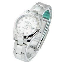Rolex Unworn 179174 Ladys Datejust with Oyster Bracelet - WG...