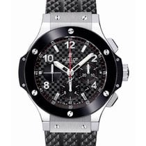 Hublot Big Bang Chronograph Steel Ceramic Black Bezel