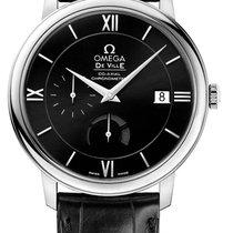 Omega DeVille Prestige Power Reserve Black Dial Men's Watch