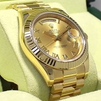 Rolex Day-date II President 218238 18k Yellow Gold Roman Dial...