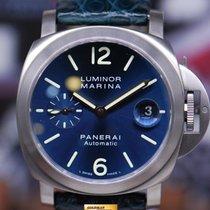 파네라이 (Panerai) Luminor Marina 40mm Titanium Automatic Blue Ref...