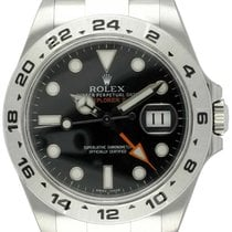 Rolex : Explorer II :  216570 :  Stainless Steel : black...