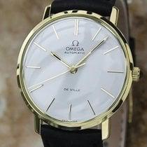 Omega DeVille 18K Solid Gold 32mm Automatic 1960s Men's...