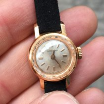 Longines Lady 24 mm vintage solo tempo Gold oro zaffiro