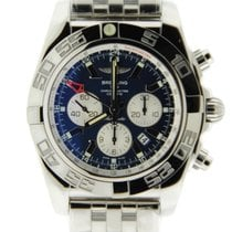 Breitling Chronomat 44 GMT Blue Dial Stainless Steel