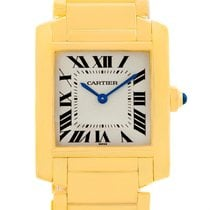 Cartier Tank Francaise Midsize 18k Yellow Gold Watch W50003n2