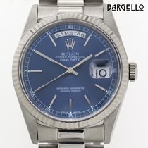 Rolex Day Date President Whitegold Double Quick