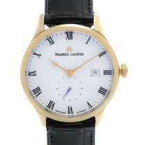 Maurice Lacroix 18K Rose Gold Masterpiece Tradition MP6907-PG1...