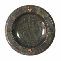 Rolex green marble ashtray