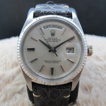 Rolex DAY-DATE 1803 18K White Gold with Original Silver...