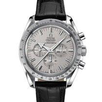 Omega Speedmaster Broad Arrow White Gold Mens Watch