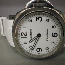 "Panerai Pam 00010 ""c"" Series 44mm Base Manual Wind Watch"